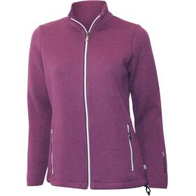 Ivanhoe of Sweden Flisan Jacket Women purple